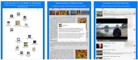 Screenshots von Wikilinks 3