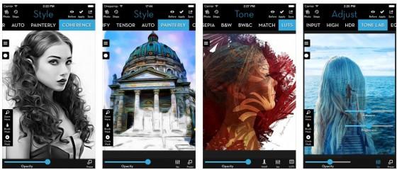 Mit iColorama kann man beeindruckende Kunstwerke erschaffen. Heute ist die iPhone-Version kostenlos.