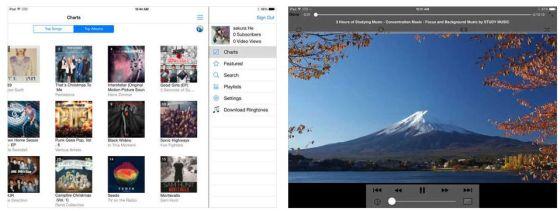 iMusic Pro macht die Nutzung von Musikvideos von Youtube einfacher für iPhone und iPad.