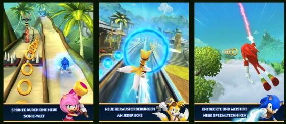Ordentlich gemacht: Sonic Boom setzt Sonic Dash sehr sauber fort und bringt einfach Spaß.