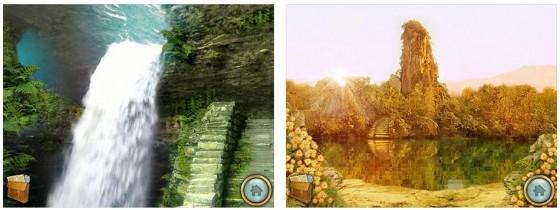 Das Spiel bietet viele Schauplätze und auch einen kompletten Walkthrough, wenn man mal nicht weiterkommt.