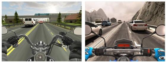 Jetzt auf dem Motorrad Gas geben: Traffic Rider setzt den Erfolg von Traffic Racer fort und setzt noch einen drauf.