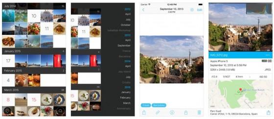 Hashphotos für iPhone und iPad bietet neben diversen Sortierungsmöglichkeiten für Bilder auch die Nachbearbeitung von Positionsdaten von Bildern. Eine nützliche Funktion.