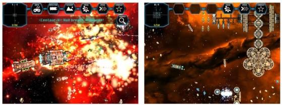 Space Borders: Alien Encounters Screens