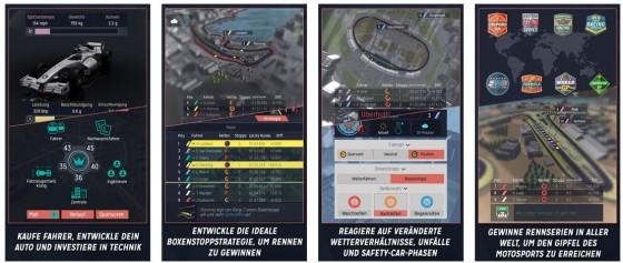 Als Motorsport Manager hast Du reichlich zu tun, wenn Du Dein Team erfolgreich machen möchtest. Die App punktet mit guter Grafik, einem ausgewogenen Spielprinzip und Überraschungsmomenten.