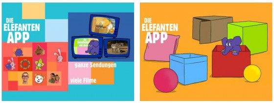Der Elefant Screens