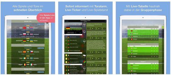 Alle Spiele der EM 2016 live sehen oder die Infos über Tore und mehr stets aktuell als Info. Die EM 2016 App Live TV empfiehlt sich als EM-Begleiter für die Fans.