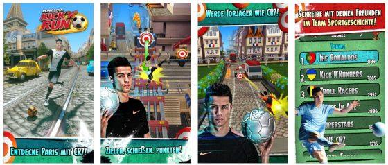 Tolle Kombination: Christiano Ronaldo Kick'n'Run vermischt mehrere Spielkonzepte so gut, dass daraus ein unterhaltsames, aber eigenständiges Spiel wird.