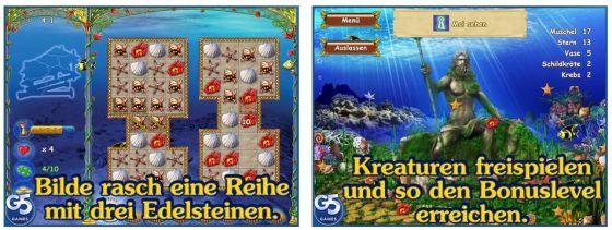Hidden Wonders of the Dephts ist das erste und letzte Spiel der Reihe, das noch als Premium-Spiel kam. Die weiteren Teile sind zwar dauerhaft kostenlos im Download, setzen aber auch wiederholte In-App-Käufe der Spieler.