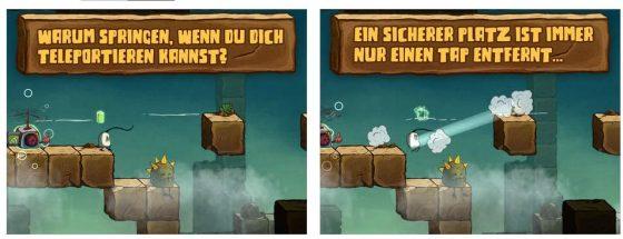 Blown Away bietet vier unterschiedlich aufgemachte Level-Packs - ja auch tödliche Gegner kommen später dazu...