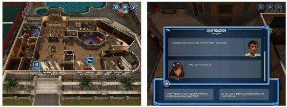 In beiden Detektiv-Spielen sammelst Du Informationen und Daten zur Lösung der Fälle. Schätzt Du die Infos falsch ein, kann der Zugang zu weiteren Informationen verlorengehen.