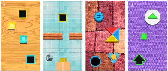 Mit Busy Shapes lernen Kleinkinder logisches Denken und werden - so die App-Herausgeber - intelligenter. So sieht sinnvolles Spielen aus...