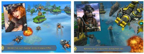 SKY TO FLY FASTER THAN WND, so der Originaltitel, ist eine Mischung aus verschiedenen Genres und kommt im Steampunk-Design.