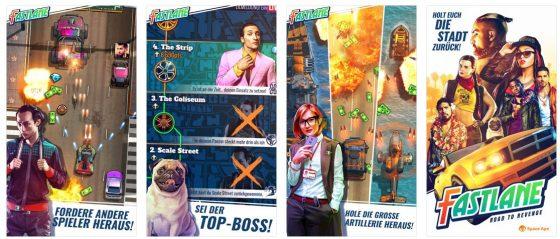 Fastlane ist ein Arcade Endless-Runner-Spiel, das einfach Spaß macht und bis ins Detail gut gemacht wurde.