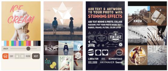 Mit Fonta kannst Du Deine Bilder mit stylischen Texten aufwerten.