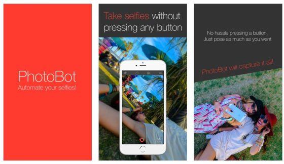 PhotoBot vereinfacht das Aufnehmen von Selfie-Serien.