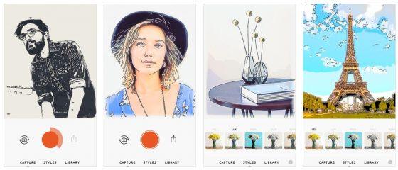 Verschiedene Stile stehen in Olli by Tinrocket zur Verfügung, um Deine Clips und Bilder in kleine Kunstwerke zu verwandeln. Die Bedienung ist ganz einfach - und die Ergebnisse sind besser, als von anderen Apps gewohnt.