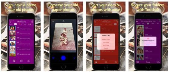 Mit Photoscan digitalisierst Du Deine Fotoabzüge und kannst dann die Bild-Dateien speichern, drucken oder teilen.