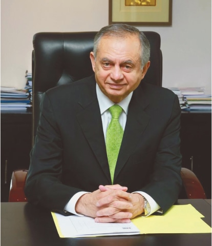 Advisor to Prime Minister for Commerce and Investment, Abdul Razak Dawood