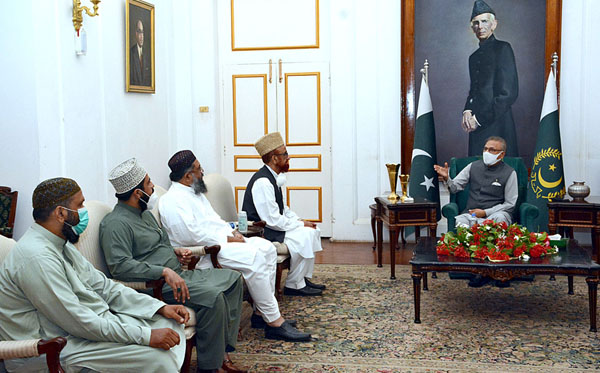 President urges Ulema to play role in sensitizing mother-child health