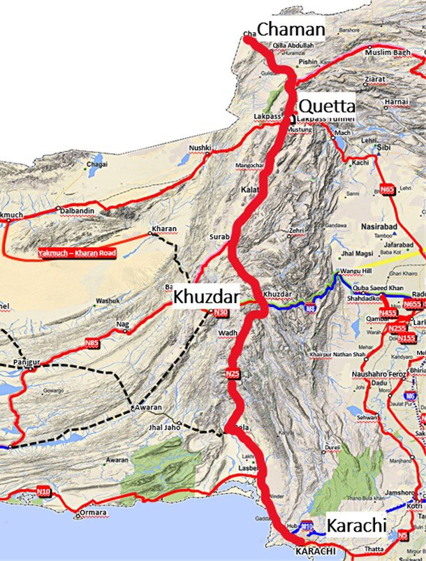 PM approves Karachi- Quetta - Chaman Road upgradation to Expressway