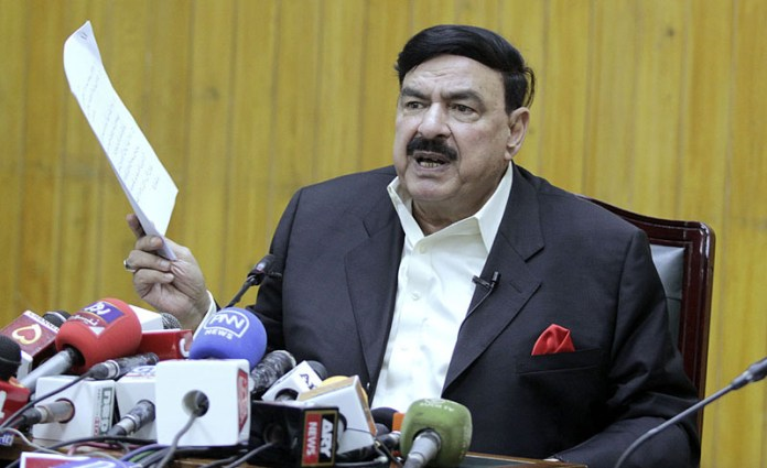 PDM leadership afraid of senate elections :Sh Rashid