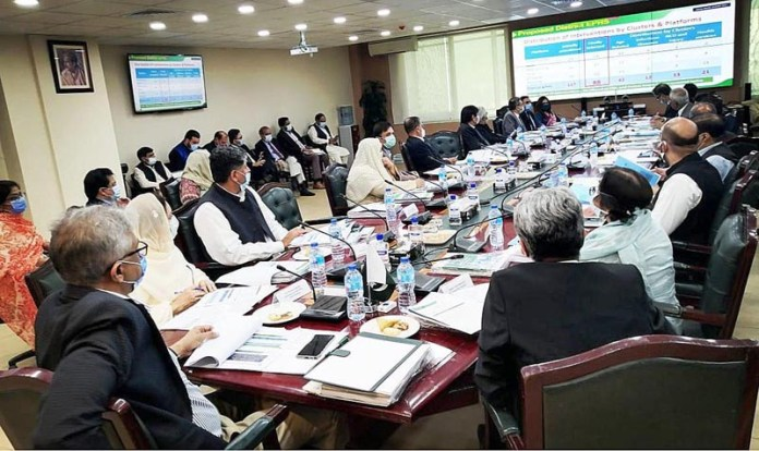 ISLAMABAD: October 22 – Special Assistant to the Prime Minister on Health Dr. Faisal Sultan chaired Inter-Ministerial Health & Population Council endorsed the UHC Benefit Package Of Pakistan. APP