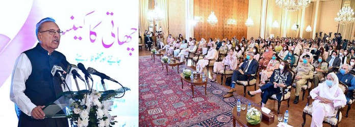 President for efforts to prevent breast cancer through awareness, breaking taboos