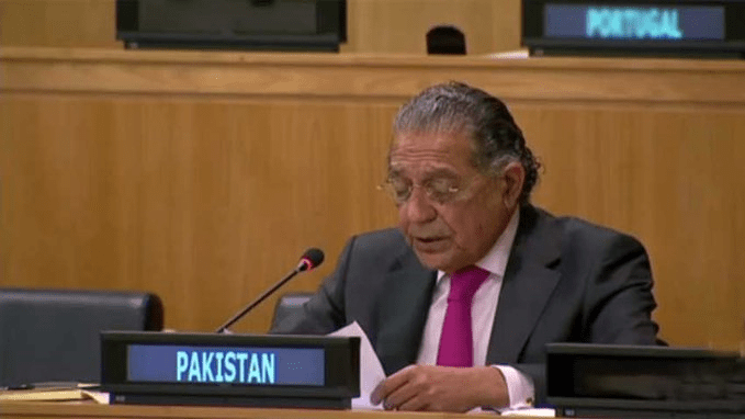 At UN, Pakistan says Hong Kong affairs are China's internal matters