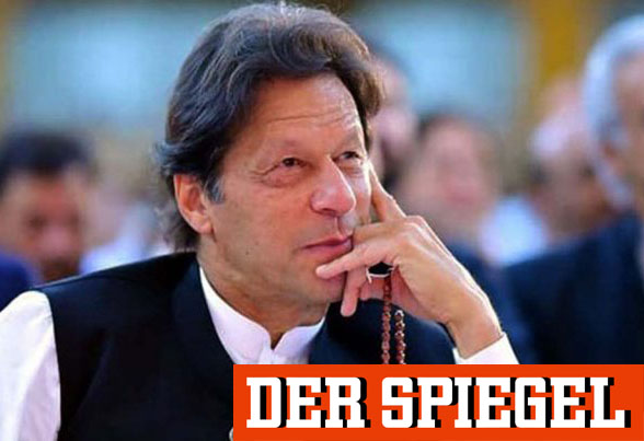 Imran Khan speaks to Der Spiegel