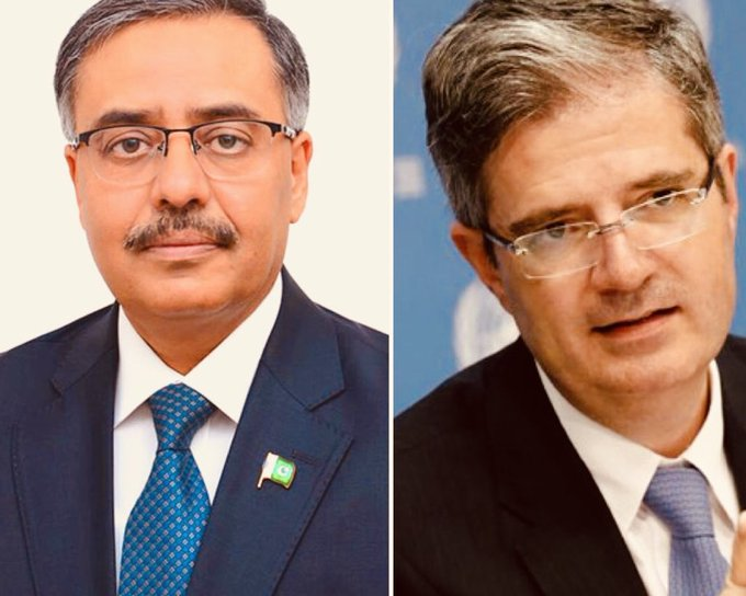 Pak, French foreign secretaries discuss enhancing bilateral cooperation