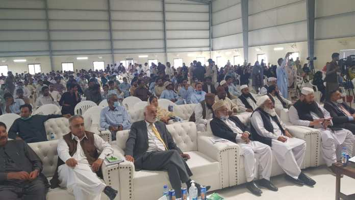 Participants at a Conference at University of Turbat, Balochistan