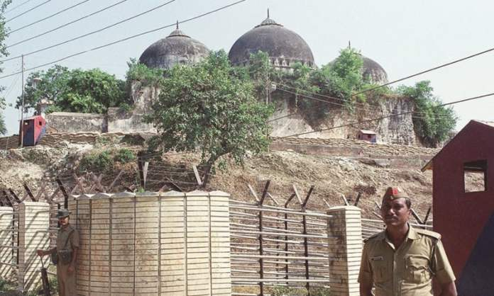 Babri Mosque - out of bound for Muslims - File Photo