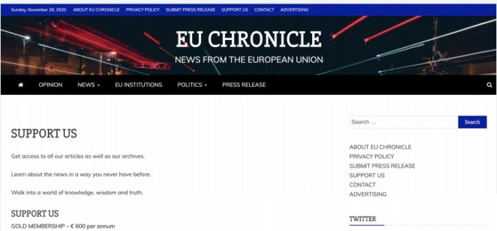 India Chronicles - EU Chronicle