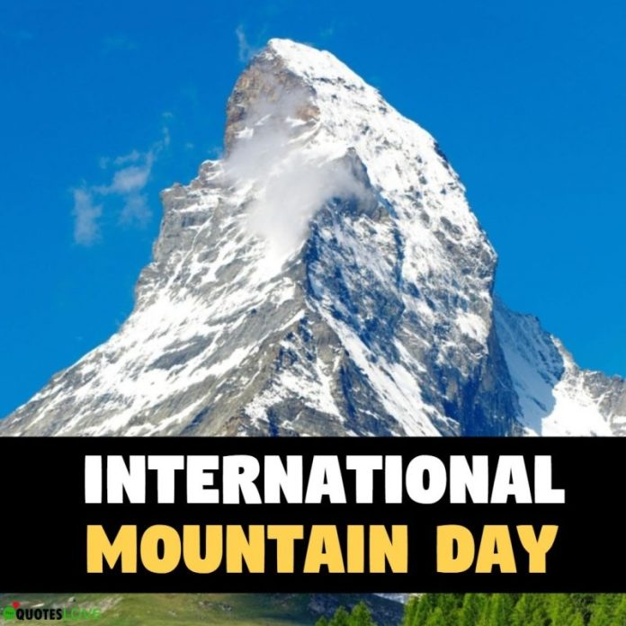 Int'l Mountains day to be marked tomorrow
