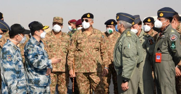 Shaheen-IX joint drill will improve combat capacity of Pak-China Air Forces: COAS