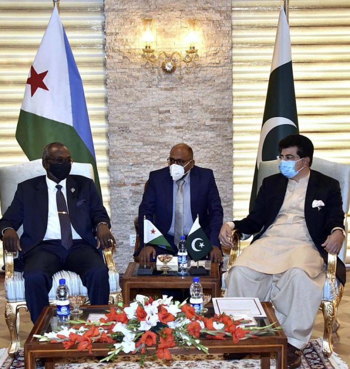 Pakistan offers training facilities to parliamentarians of Djibouti