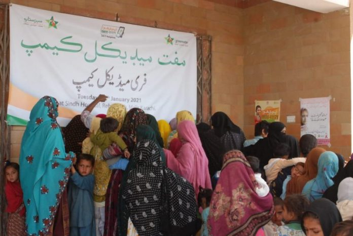 Medical Camp provides treatment to inhabitants of coastal village