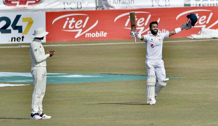 Unbeaten Rizwan's maiden Test knock guide Pakistan to 298 runs