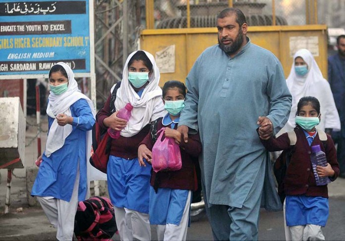 Students arrives to school as all educational activities resume amid strict implementation of COVID SOPs