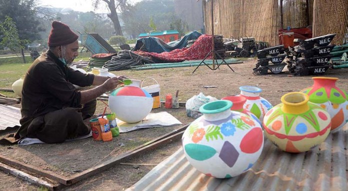 Preparations for Spring Festival in Jilani Park would be continue after the second wave of epidemic diseases (COVID-19)
