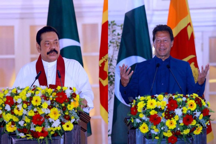 Pakistan, Sri Lanka agree to further strengthen bilateral ties in diverse areas through enhanced connectivity