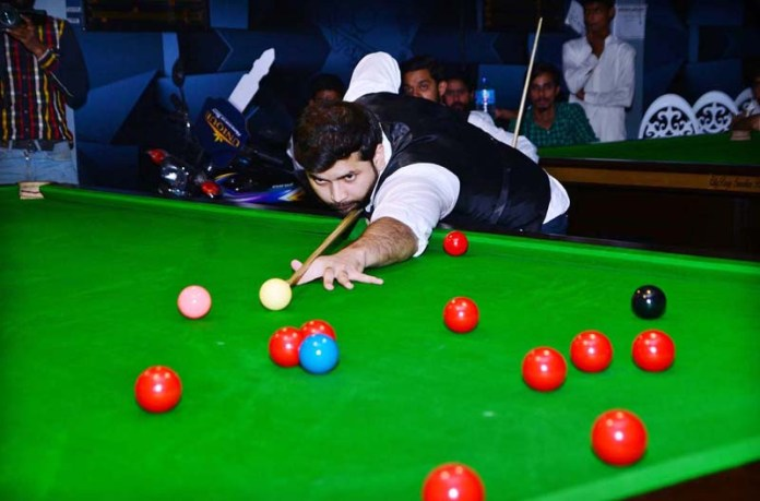 Upcoming Saud Khan wins 33rd edition of KP Snooker Championship