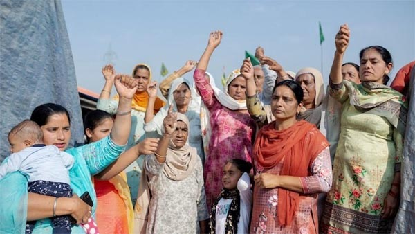 TIME features women leading India's farmer protests on its cover