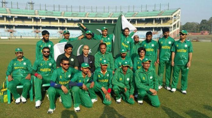 DG SBP greets Pak blind cricket team