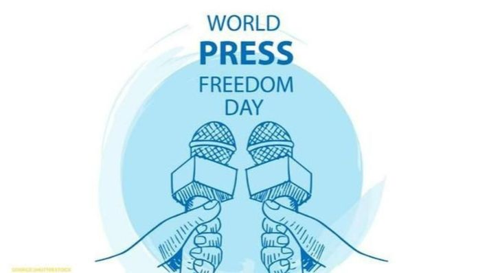 AJK media men mark world press freedom day in IIOJK