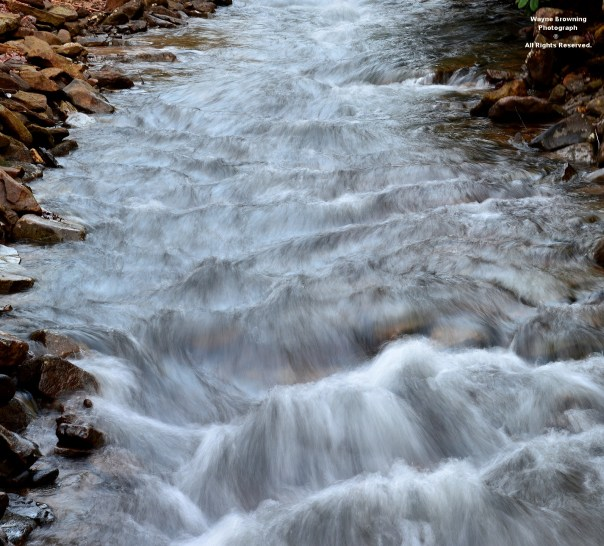 Whitewater In Clear Creek Gorge of High Knob Massif - December 7, 2014