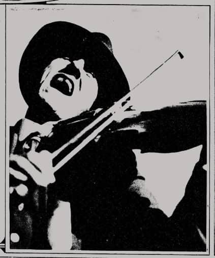 Fiddlin' John in the New-York tribune (NYC), December 12, 1920
