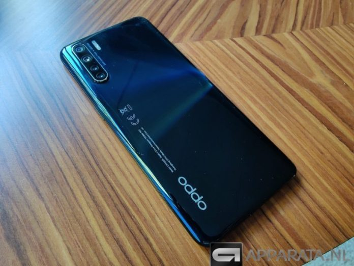 OPPO A91 review back cover