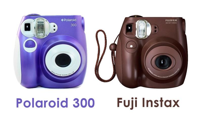 polaroid pic 300 vs instax fujifilm difference